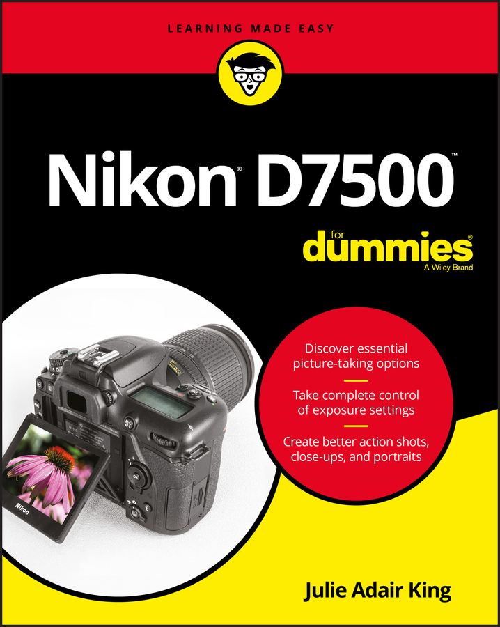 Julie Adair King Nikon D7500 For Dummies julie adair king nikon d3000 for dummies
