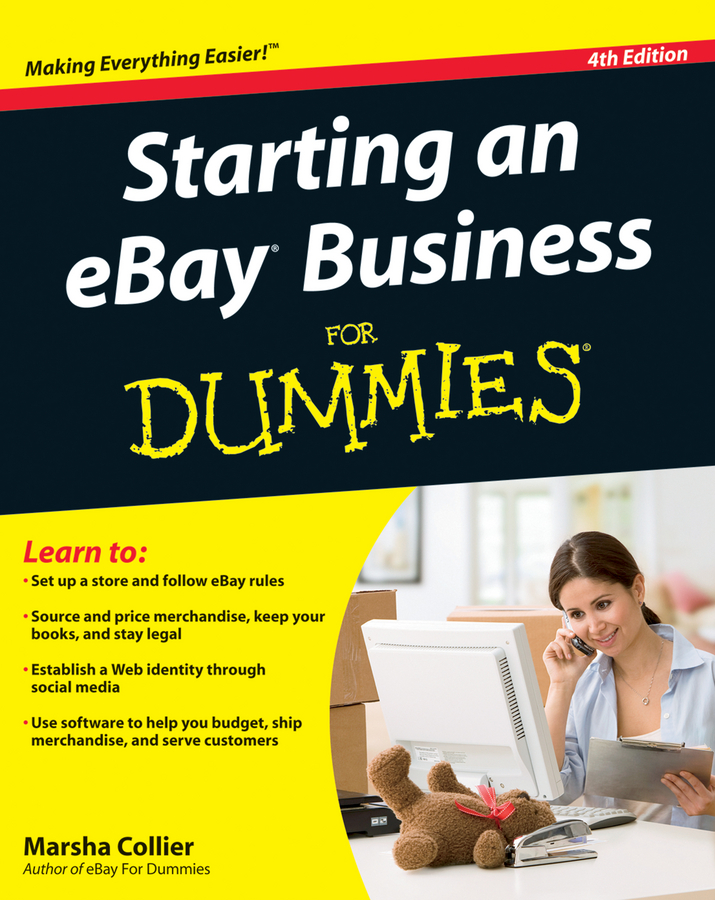 Marsha Collier Starting an eBay Business For Dummies