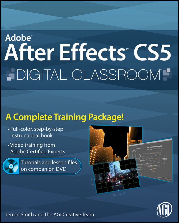 Jerron Smith Adobe After Effects CS5 Digital Classroom книга after effects