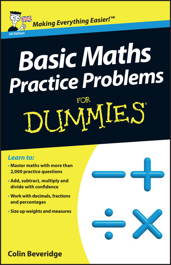 Colin Beveridge Basic Maths Practice Problems For Dummies brandt flip charts how to draw them
