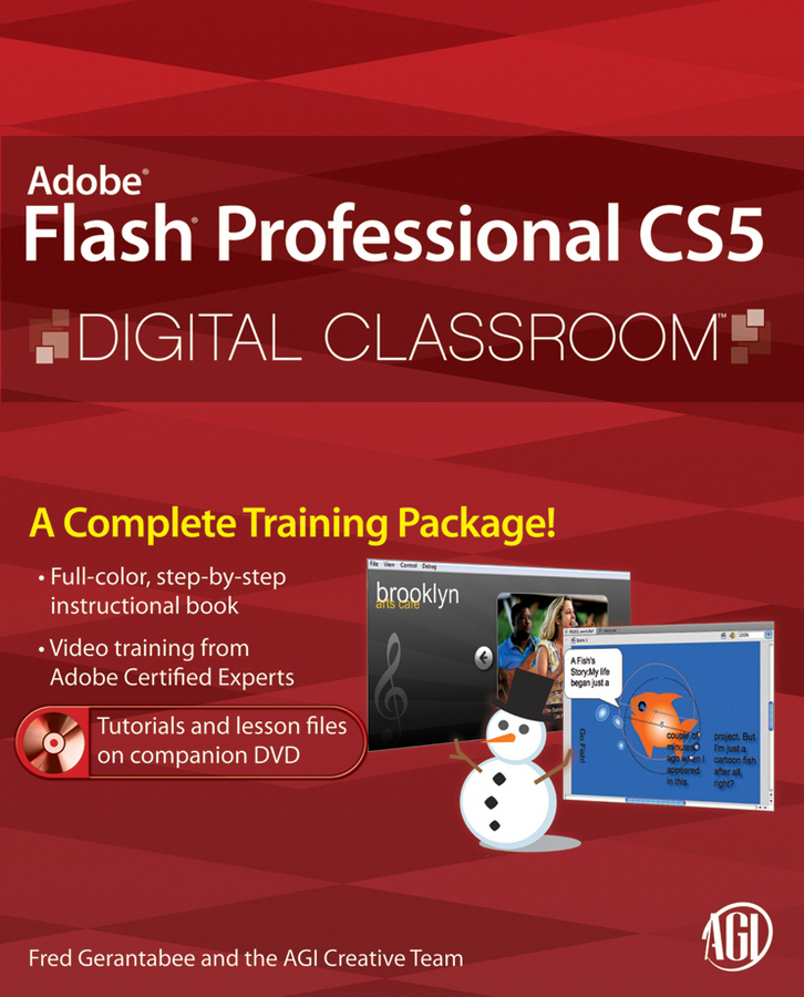 Fred Gerantabee Flash Professional CS5 Digital Classroom