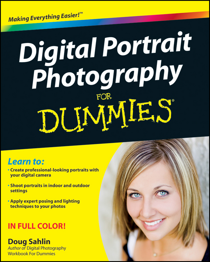Doug Sahlin Digital Portrait Photography For Dummies стайлер sakura sa 4408bk