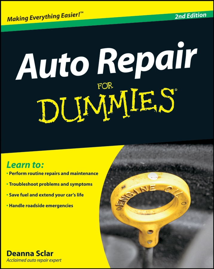 Deanna Sclar Auto Repair For Dummies dennis bailey bike repair and maintenance for dummies isbn 9780470480342