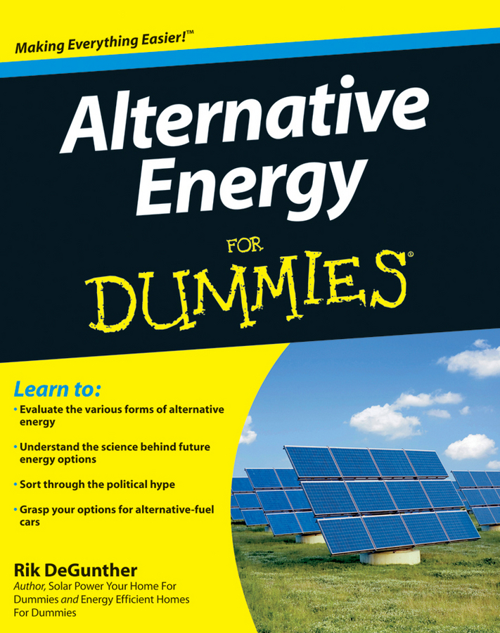 Rik DeGunther Alternative Energy For Dummies c gonzalez alternative methodologies for social assessment of environmental projects