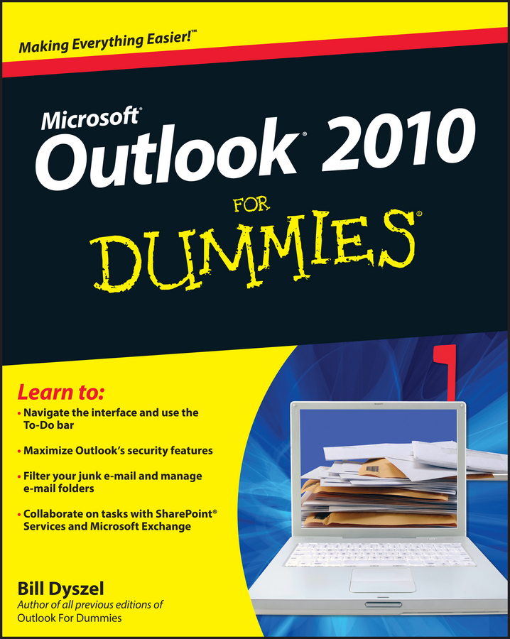 Bill Dyszel Outlook 2010 For Dummies