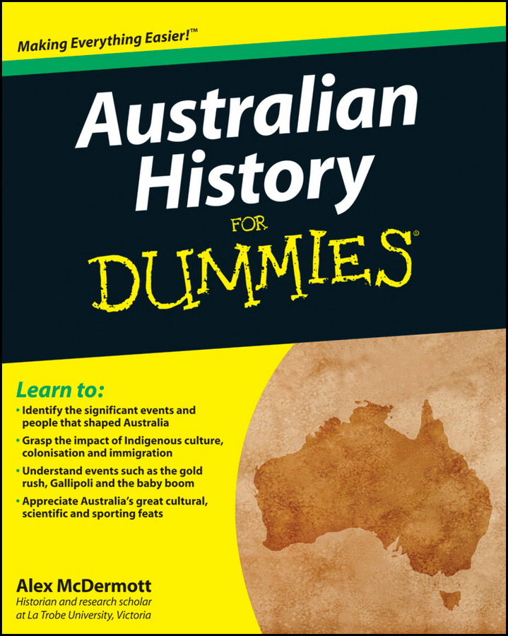 Alex McDermott Australian History for Dummies mike cronin irish history for dummies