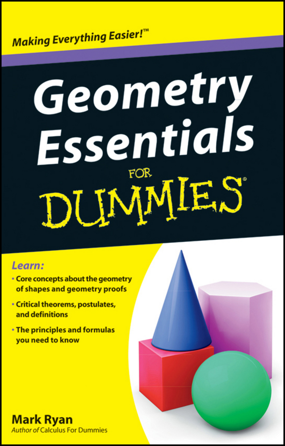 купить Mark Ryan Geometry Essentials For Dummies онлайн