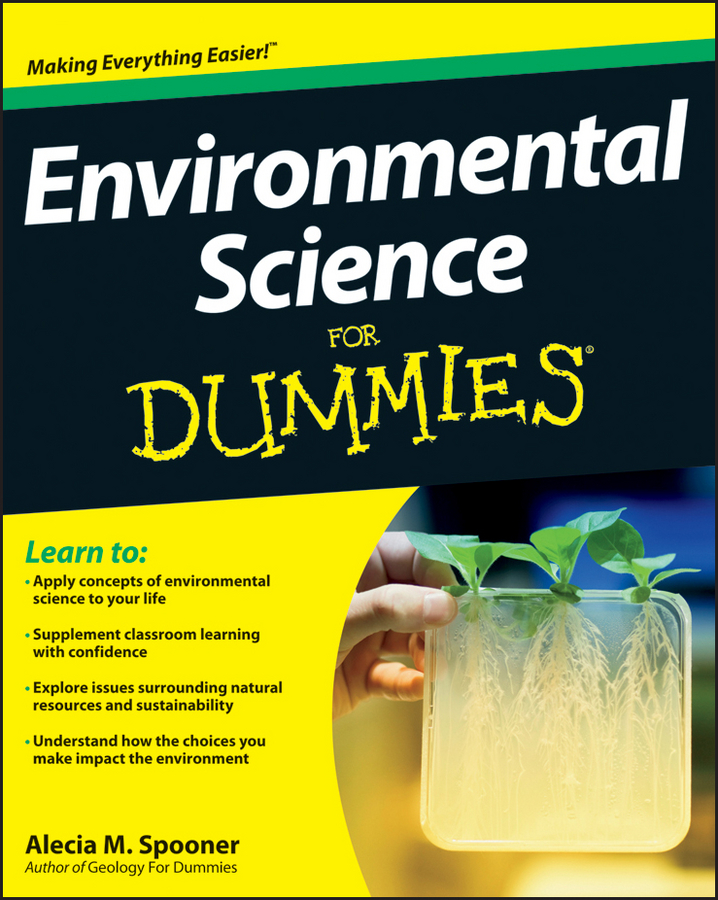 Alecia Spooner M. Environmental Science For Dummies цена