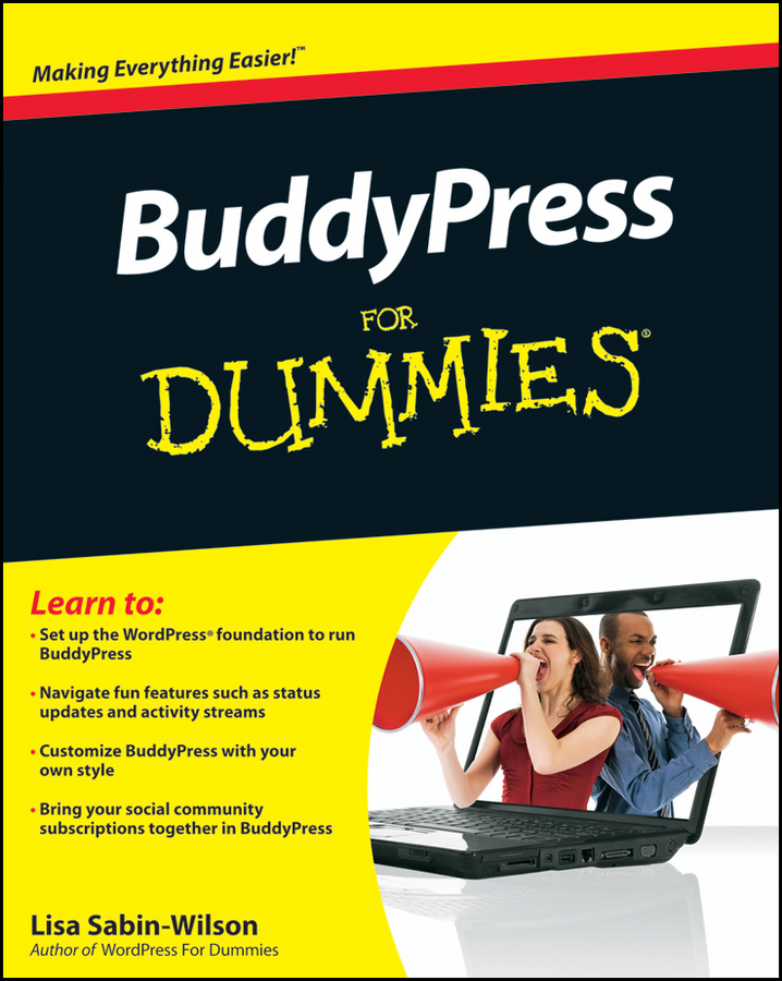Lisa Sabin-Wilson BuddyPress For Dummies wordpress for dummies