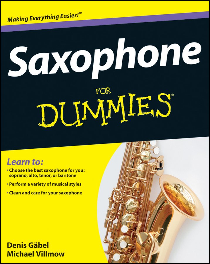 Michael Villmow Saxophone For Dummies