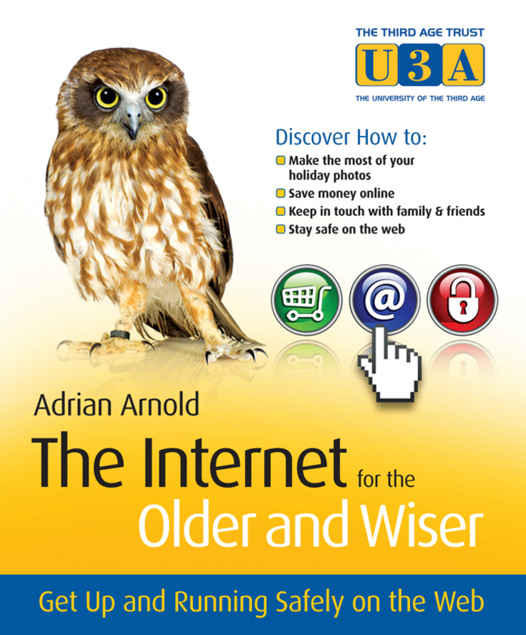 Adrian Arnold The Internet for the Older and Wiser. Get Up and Running Safely on the Web art in the age of the internet 1989 to today
