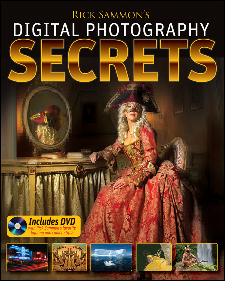 Rick Sammon Rick Sammon's Digital Photography Secrets card tricks and games book