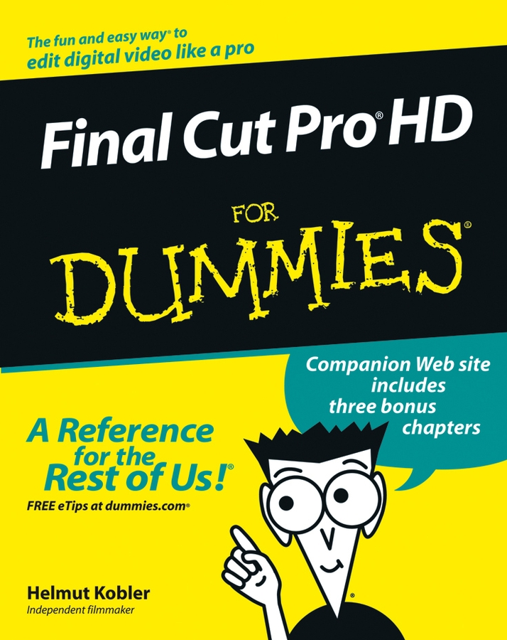 Helmut Kobler Final Cut Pro HD For Dummies