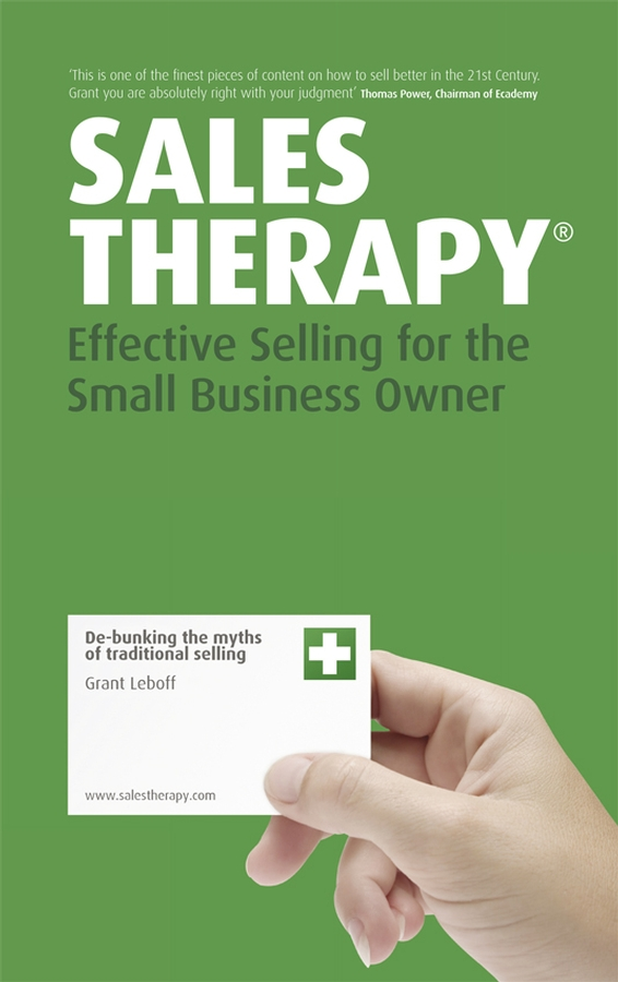 Grant Leboff Sales Therapy. Effective Selling for the Small Business Owner 10pcs lot lm1084it 12 lm1084 to 220 good qualtity hot sell free shipping buy it direct