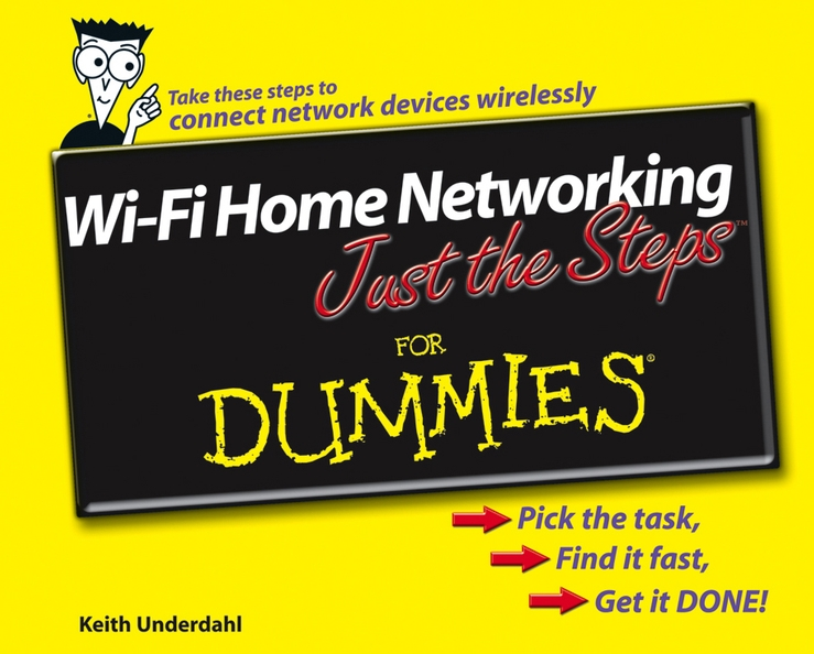 Keith Underdahl Wi-Fi Home Networking Just the Steps For Dummies ip camera wifi 960p wireless camara video surveillance hd ir cut night vision mini home security camera cctv system email alert