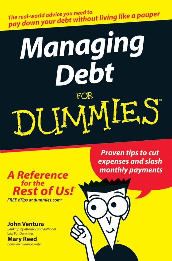 John Ventura Managing Debt For Dummies john ventura divorce for dummies