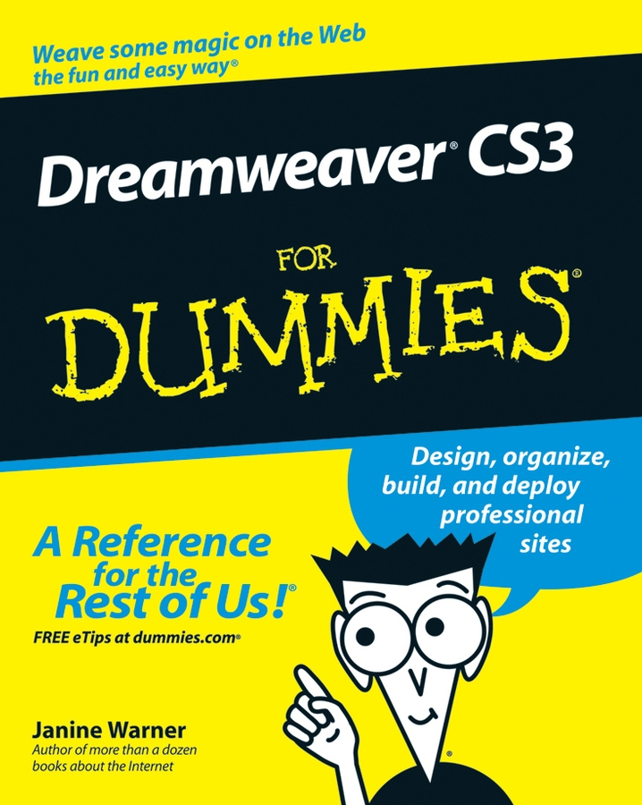 Janine Warner Dreamweaver CS3 For Dummies janine warner dreamweaver cc for dummies