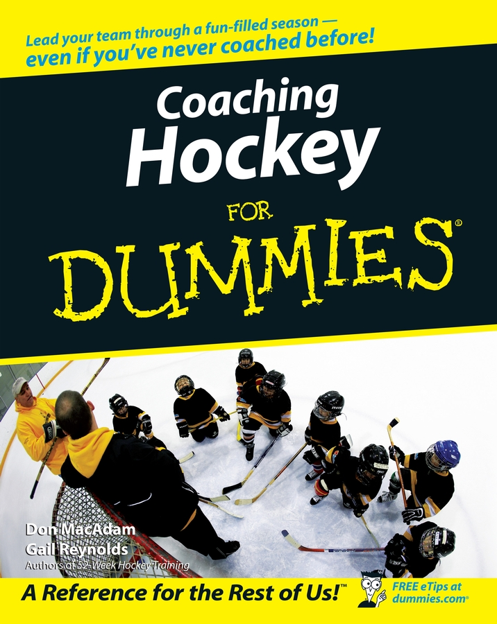 Don MacAdam Coaching Hockey For Dummies dominic bliss being the best man for dummies