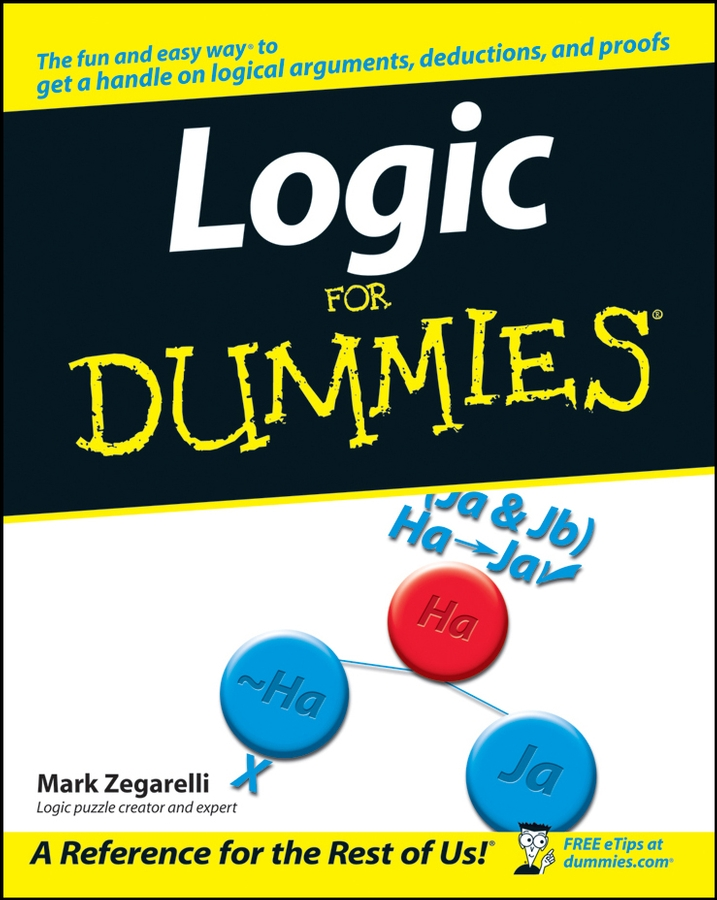 Mark Zegarelli Logic For Dummies handbook of epistemic logic