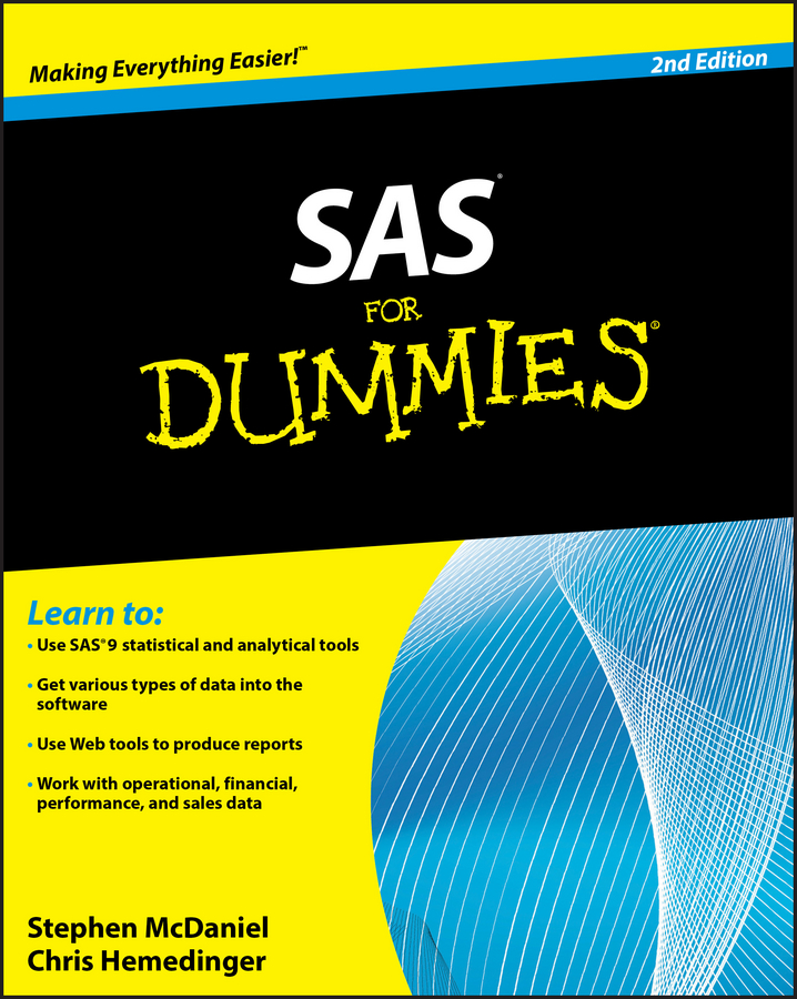 Stephen McDaniel SAS For Dummies dan matthews online business all in one for dummies