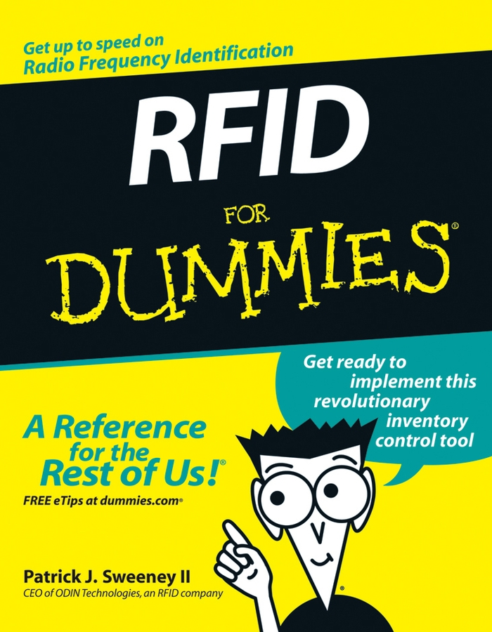 Patrick J. Sweeney, II RFID For Dummies 1d 2d qr code image barcode scanner scanning barcode for windows vista android ios devices barcode reader usb interface
