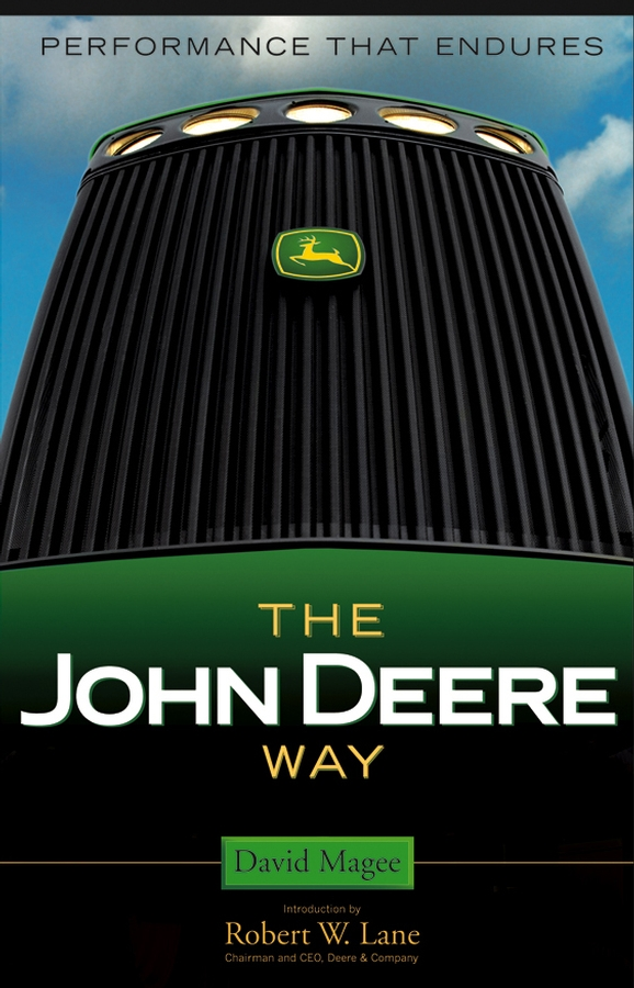 David Magee The John Deere Way. Performance that Endures john deere original equipment seal m45400