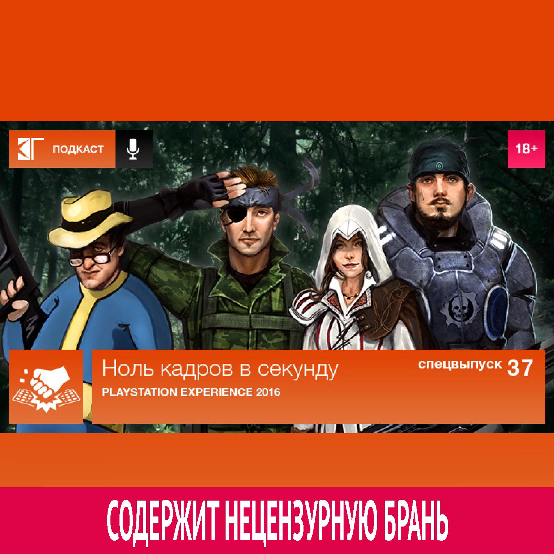 Михаил Судаков Спецвыпуск 37: PlayStation Experience 2016 playstation