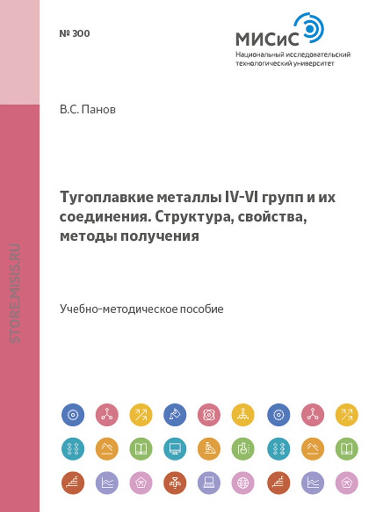 Владимир Панов Тугоплавкие металлы IV–VI групп и их соединения. Структура, свойства, методы получения все цены