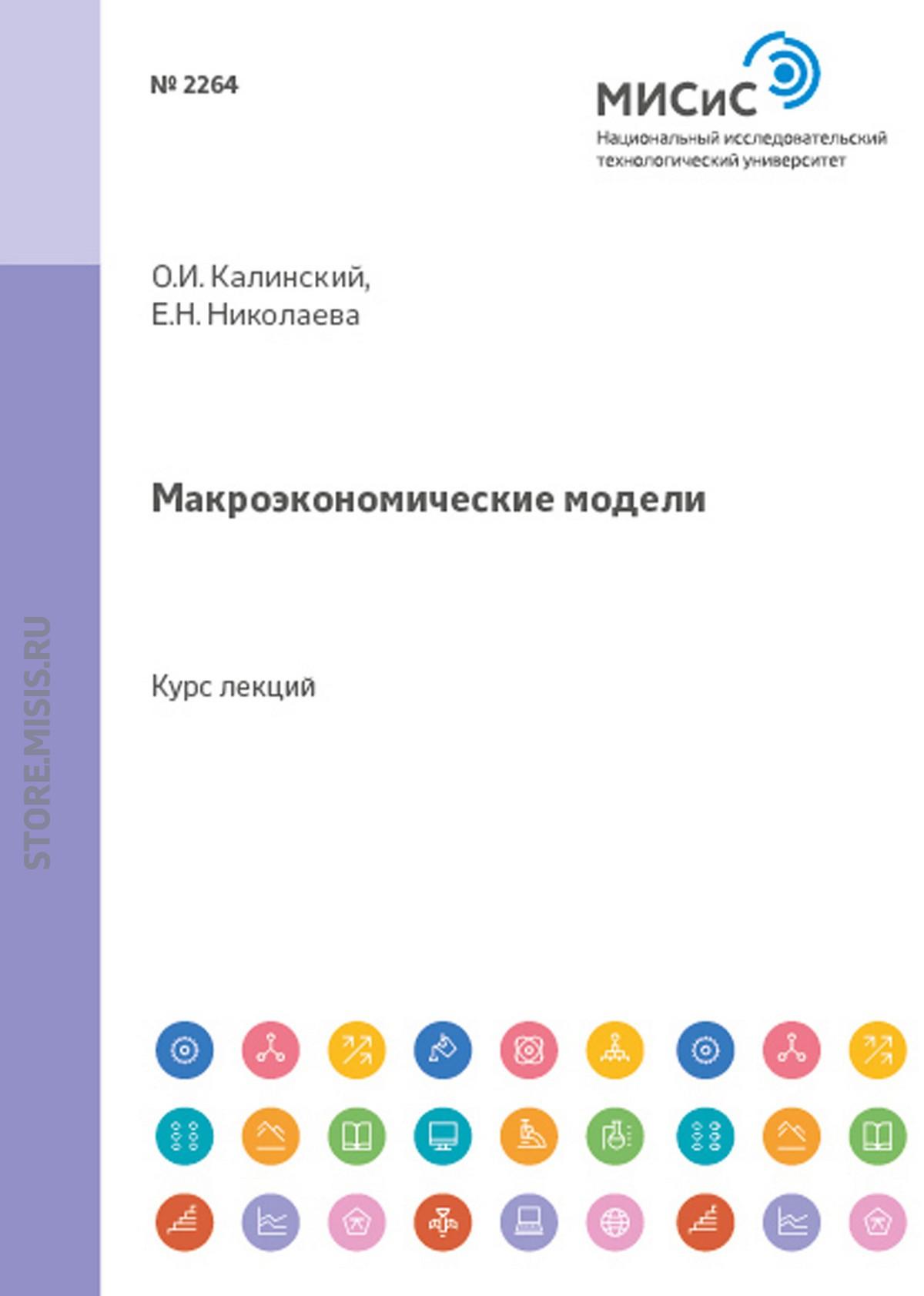О. И. Калинский Макроэкономические модели цены