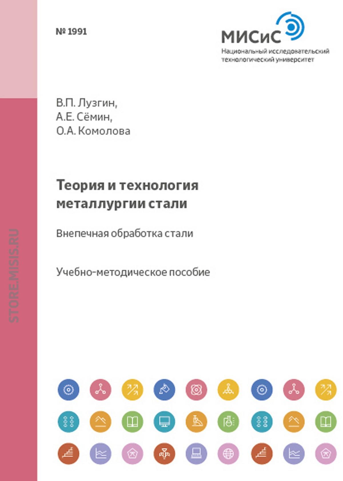 Валентин Лузгин Теория и технология металлургии стали. Внепечная обработка стали