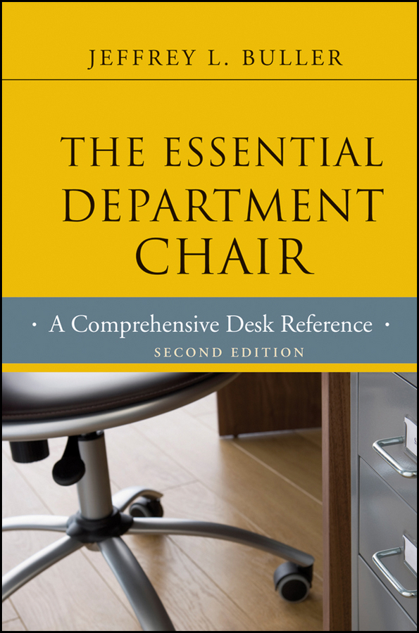 Jeffrey L. Buller The Essential Department Chair. A Comprehensive Desk Reference pet care inc pembroke welsh corgi notebook record journal diary special memories to do list academic notepad and much more