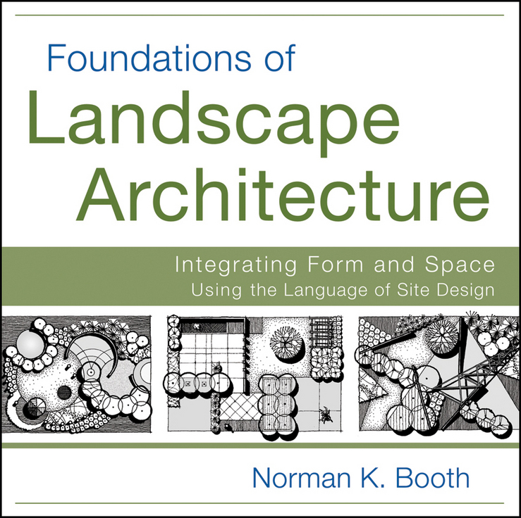 Фото - Norman Booth Foundations of Landscape Architecture. Integrating Form and Space Using the Language of Site Design concise colour block and circle pattern design men s slippers