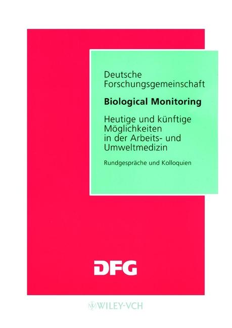 Jurgen Angerer Biological Monitoring. Heutige und Kunftige Moglichkeiten in der Arbeits- und Umweltmedizin дутики der spur der spur de034amde817