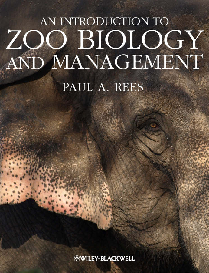 Paul Rees A. An Introduction to Zoo Biology and Management футболка zoo york corked and taped black