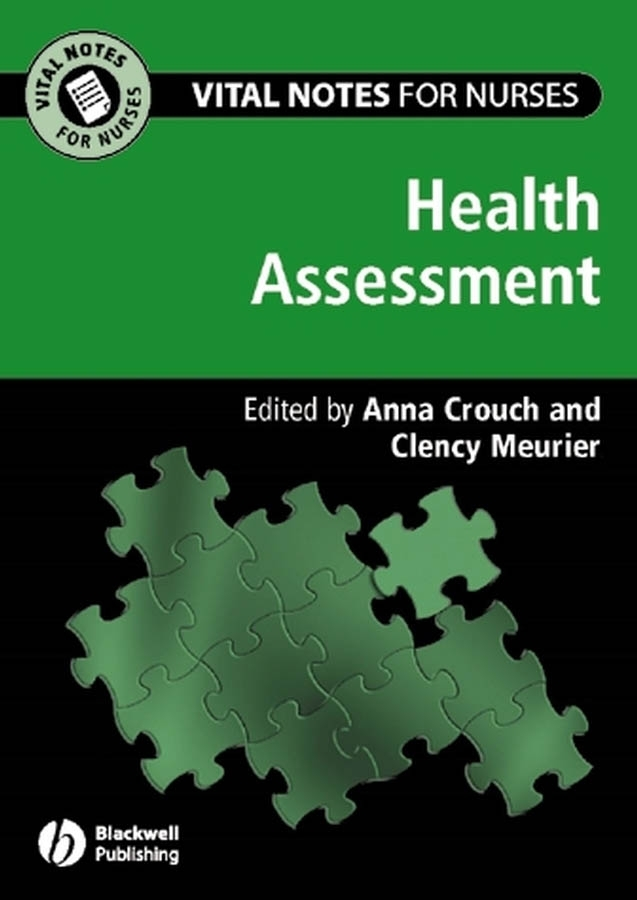 Meurier Clency Health Assessment jane wills vital notes for nurses promoting health