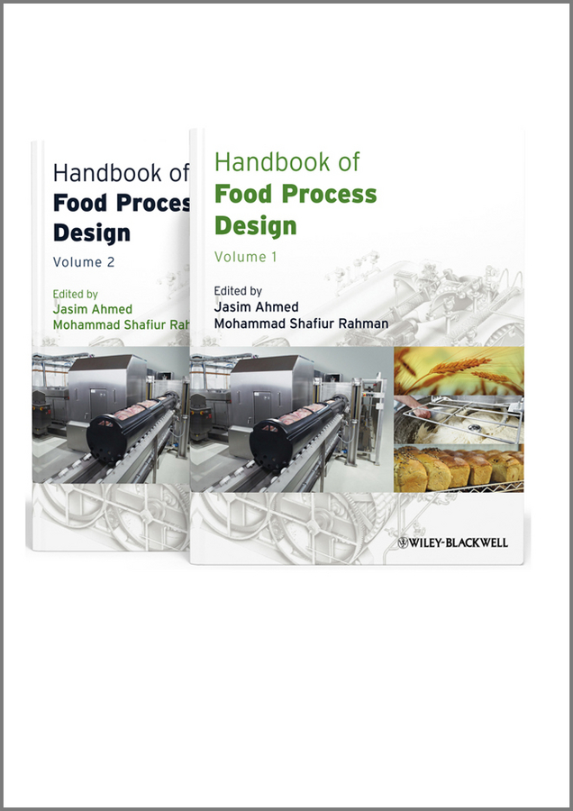 Rahman Mohammad Shafiur Handbook of Food Process Design, 2 Volume Set кисти подхваты крючки держатели xiangsheng process