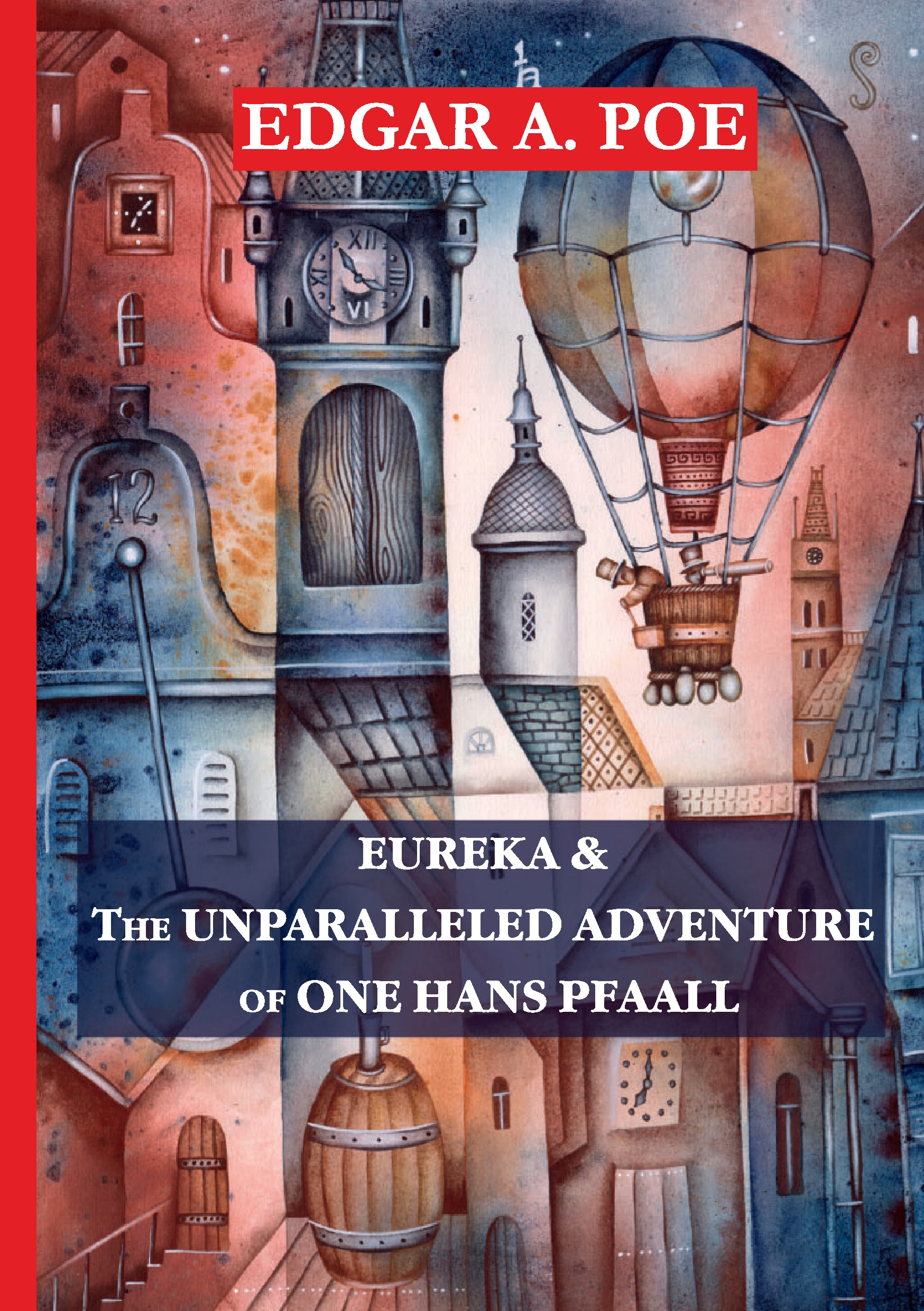 Эдгар Аллан По Eureka & The Unparalleled Adventure of One Hans Pfaall эдгар аллан по the purloined letter