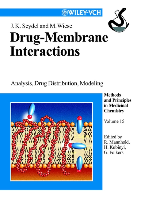 Hugo Kubinyi Drug-Membrane Interactions. Analysis, Drug Distribution, Modeling