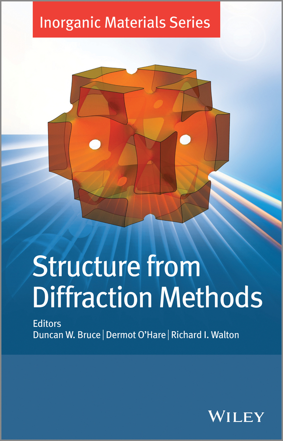 Structure from Diffraction Methods. Inorganic Materials Series ( Dermot  O\'Hare  )