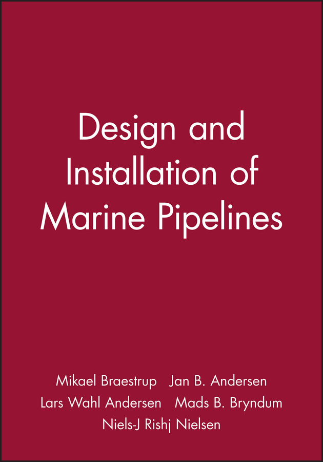Mikael Braestrup Design and Installation of Marine Pipelines masterclass interior design