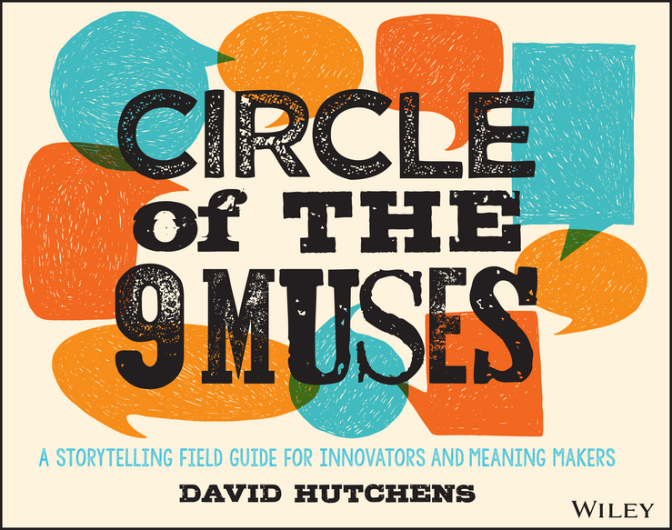Фото - David Hutchens Circle of the 9 Muses. A Storytelling Field Guide for Innovators and Meaning Makers concise colour block and circle pattern design men s slippers