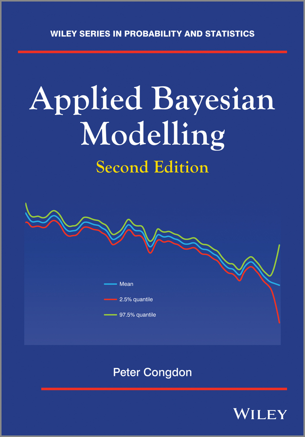 Peter Congdon Applied Bayesian Modelling velocity modeling to determine pore aspect ratios of shale