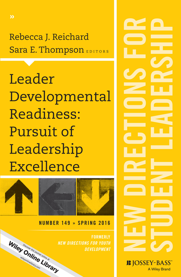 Rebecca Reichard J. Leader Developmental Readiness: Pursuit of Leadership Excellence. New Directions for Student Leadership, Number 149 development in catch and efforts in lake tana fisheries ethiopia