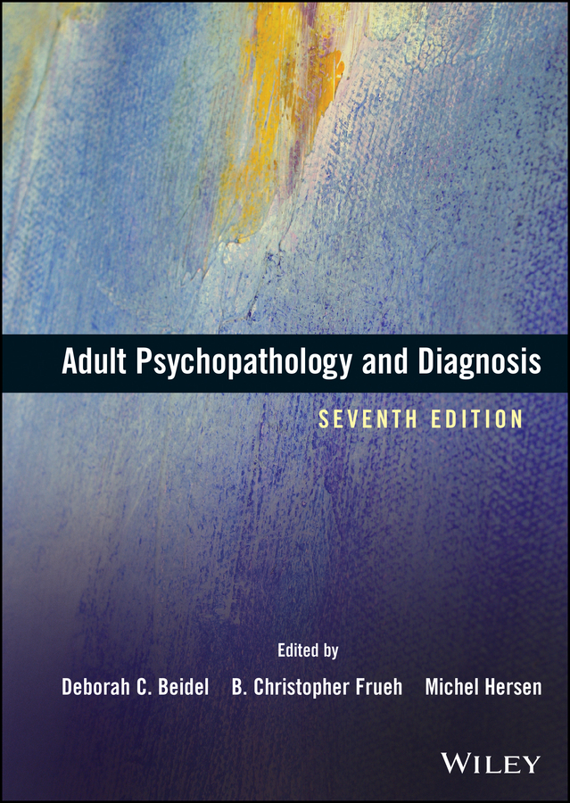 Michel Hersen Adult Psychopathology and Diagnosis personality of adolescents predisposed to developing eating disorders