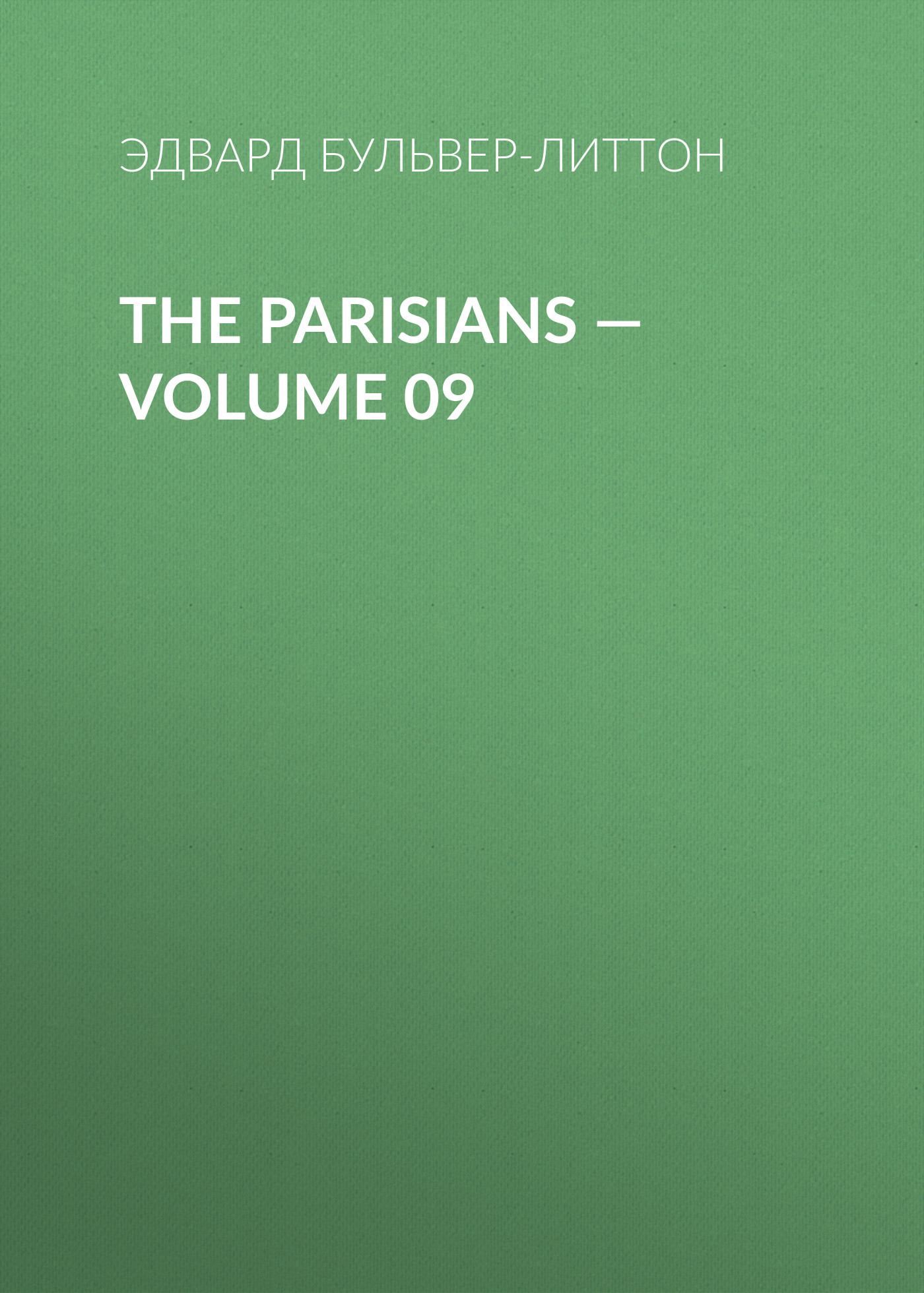 The Parisians — Volume 09