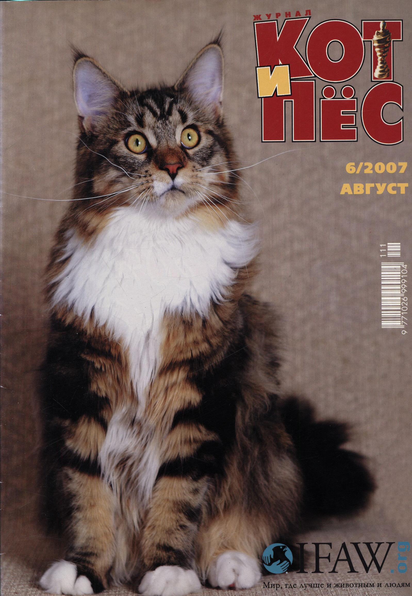 Фото - Отсутствует Кот и Пёс №6/2007 товары для рыбалки