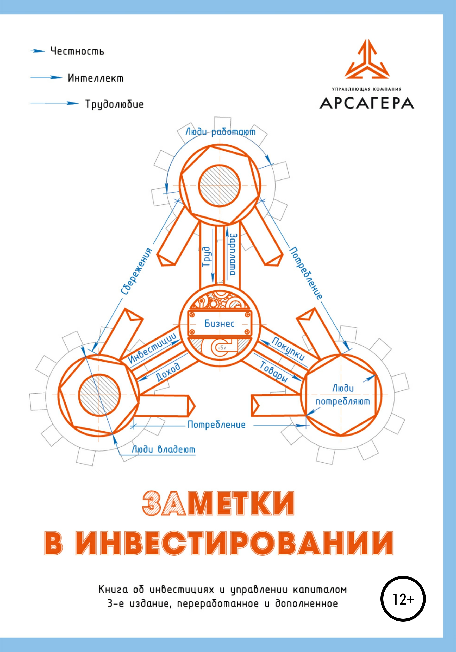 Обложка книги. Автор - УК «Арсагера»