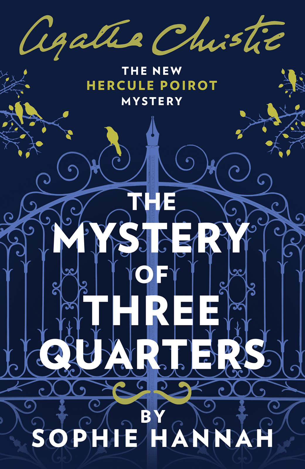 the mystery of three quarters the new hercule poirot mystery