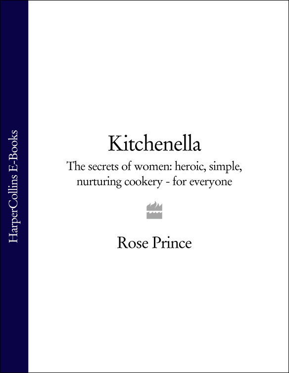Rose Prince Kitchenella: The secrets of women: heroic, simple, nurturing cookery - for everyone pair of charming titanium steel geometric earrings for women