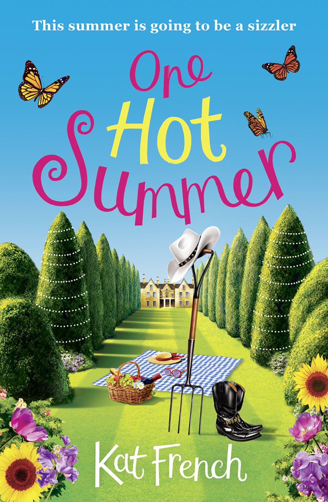 Kat French One Hot Summer: A heartwarming summer read from the author of One Day in December цена